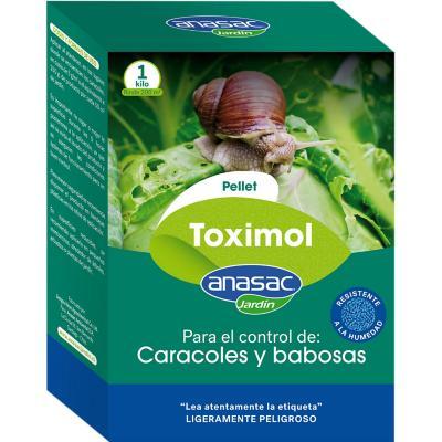 Molusquicida para Jardines y Huertos Toximol Pellet 1 kg