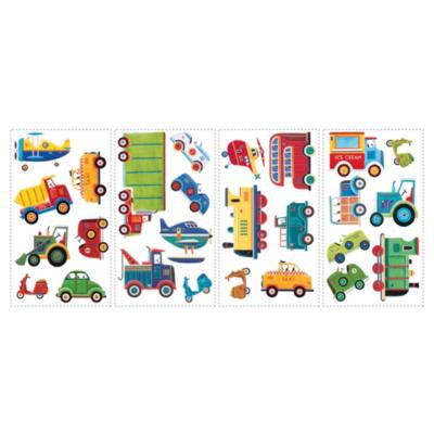 Sticker decorativo transporte 26 unidades