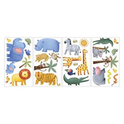 Sticker decorativo jungla 29 unidades
