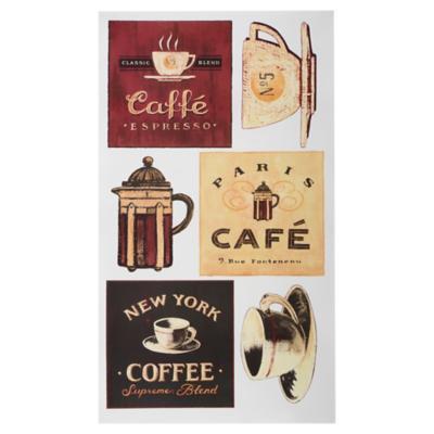 Sticker decorativo café 31 unidades