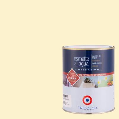 Esmalte al agua satinado damasco 1/4 gl