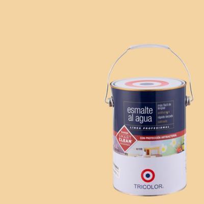 Esmalte al agua satinado damasco 1 gl