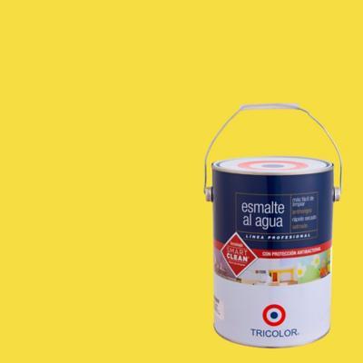 Esmalte al agua satinado amarillo oro 1 gl
