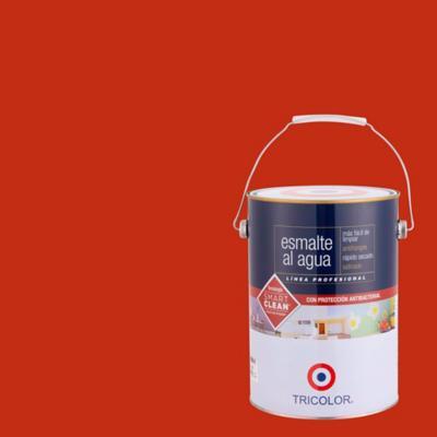 Esmalte al agua satinado rojo italiano 1 gl