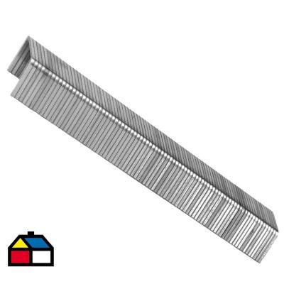 Grapa galvanizada 12 mm 1080 unidades