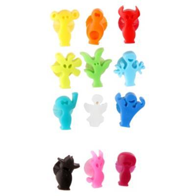 Set Marcador de Vaso Silicona 12 Unidades Multicolor