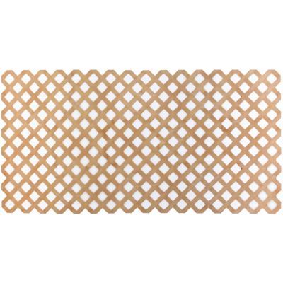 Enrejado PVC 122x244 cm Cedro