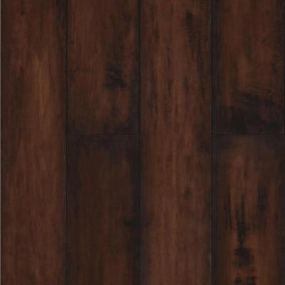 Piso flotante 8 mm café oscuro 121x14,3 cm 2,42 m2