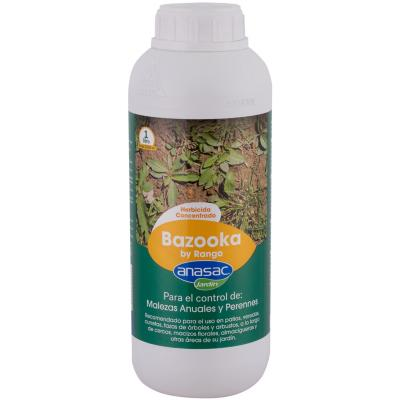 Herbicida para control de malezas Bazooka 1 litro botella