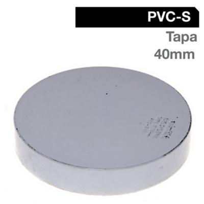 Tapa PVC-S Bco Cementar 40mm Blanco 1u