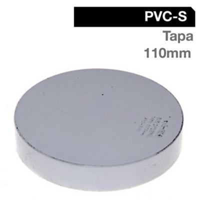 Tapa PVC-S Bco Cementar 110mm Blanco 1u