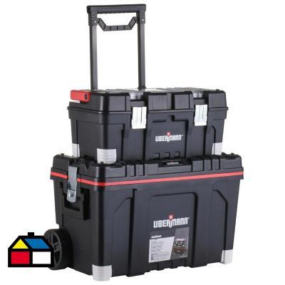 Carro porta herramientas 2 en 1 34x40x64