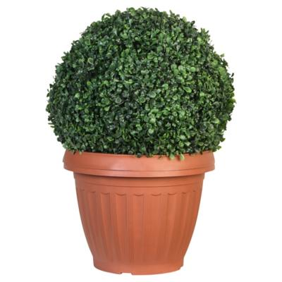 Topiary solar decorativa 35x50 cm verde