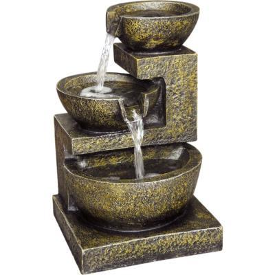 Fuente de agua pequeña de poliresina