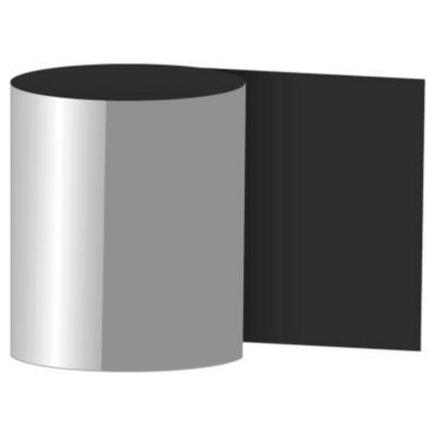 405 x 6000 mm Fleje liso negro