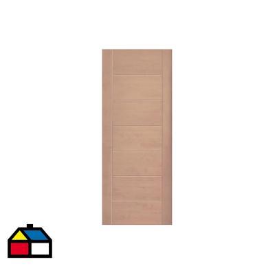 Puerta lenga Toscana 200x100 cm