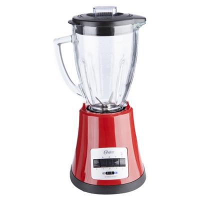 Licuadora vidrio 1,25 litros rojo