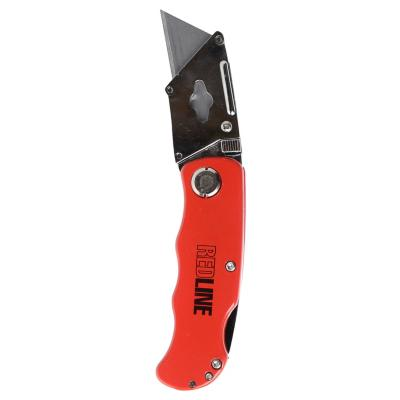 Cuchillo cartonero rojo