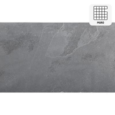 Piedra pizarra negro 30x60 cm 0,9 m2