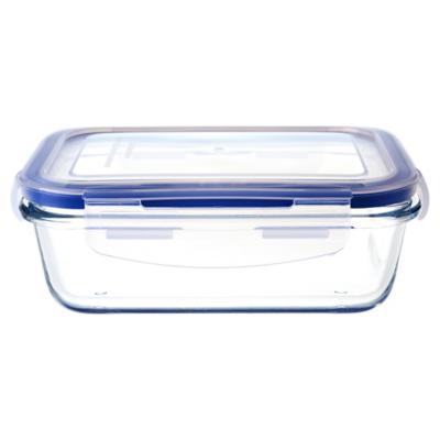 Contenedor de alimentos vidrio 0,55 litros 16,1x11,3x5,1 cm