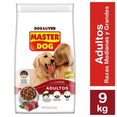 Alimento seco para perro adulto 9 kg carne, arroz y vegetales