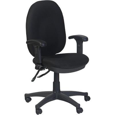 Silla para PC 61x57x105 cm negro