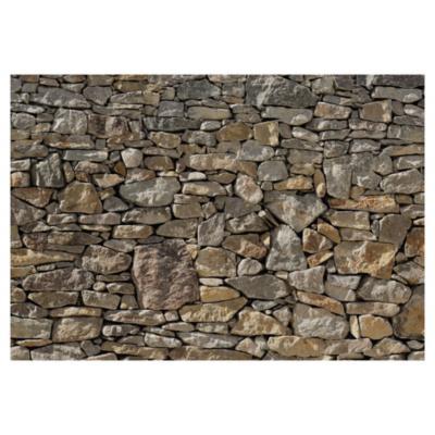 Papel fotomural Muro piedra 368x254 cm 2 paneles
