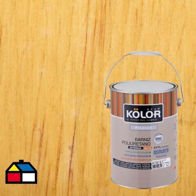 Barniz poliuretano mate 1 gl transparente