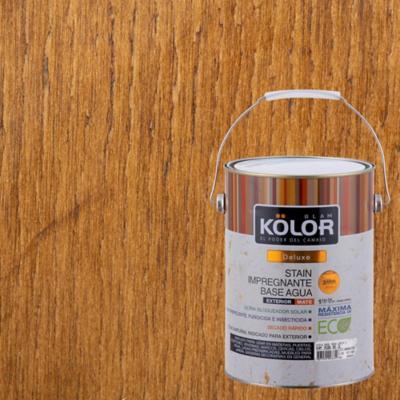 Protector de madera satinado 1 gl castaño