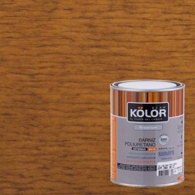 Barniz poliuretano mate 1/4 gl Roble