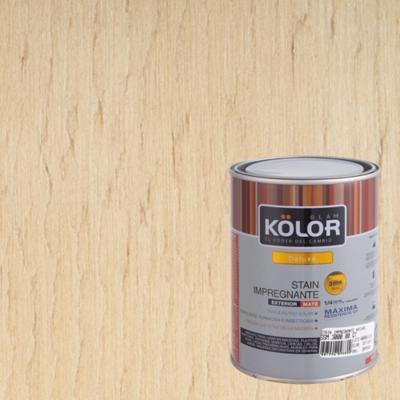 Protector de madera satinado 1/4 gl natural
