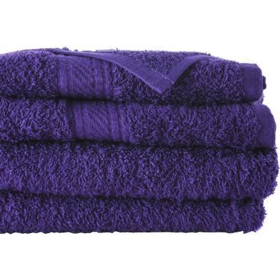 Juego de toallas de baño y mano 360 gr 2 unidades Morado
