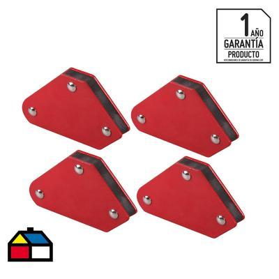 Set 4  sujetadores magnéticos para soldar