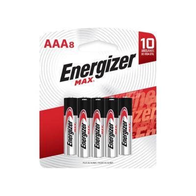 Pack de 8 pilas alcalinas AAA 1.5V
