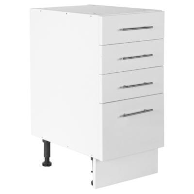 Mueble base 40x60 cm melamina blanco