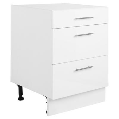 Mueble base 60x60 cm melamina blanco