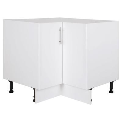 Mueble base 93x95 cm melamina blanco