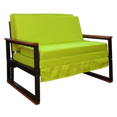 Futón 98x45x72 cm verde