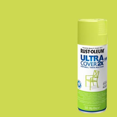 Pintura en spray brillante 340 gr verde lima