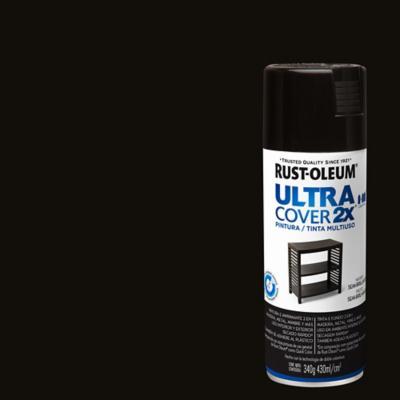 Pintura en spray semibrillo 340 gr negro