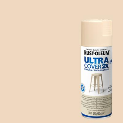 Pintura en spray brillante 340 gr marfil
