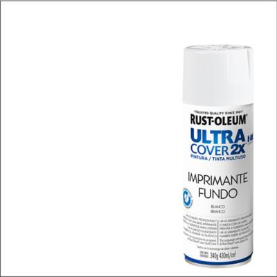 Pintura en spray mate 340 gr Imprimante blanco