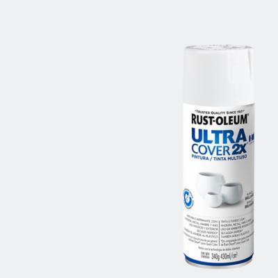Pintura en spray brillante 340 gr blanco