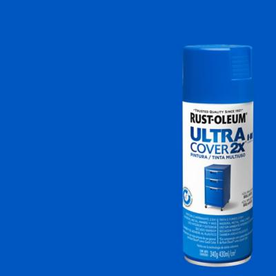 Pintura en spray brillante 340 gr azul