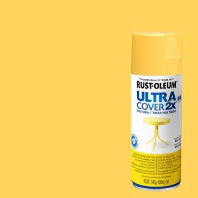 Pintura en spray semibrillo 340 gr amarillo sol