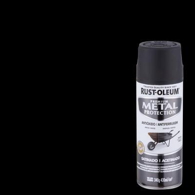 Pintura anticorrosiva en spray satinado 340 gr negro