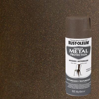 Pintura anticorrosiva en spray satinado 340 gr café otoño