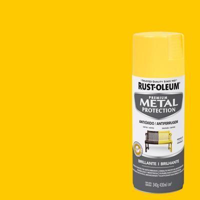 Pintura anticorrosiva en spray mate 340 gr amarillo sol