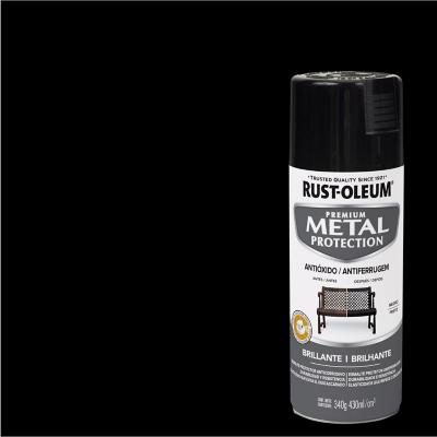 Pintura anticorrosiva en spray brillante 340 gr negro