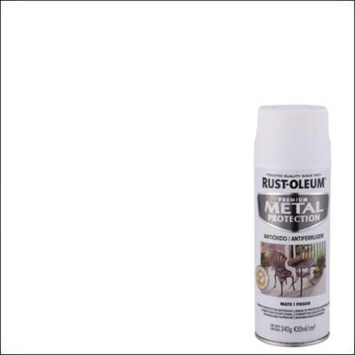 Pintura anticorrosiva en spray mate 340 gr blanco